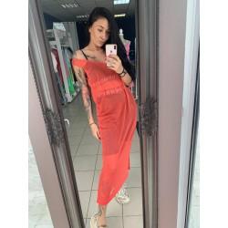Silva Dress Short Red